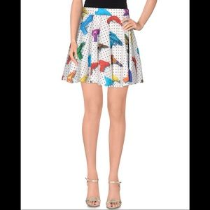 Jeremy Scott Runway RTW Multi Pattern Skirt